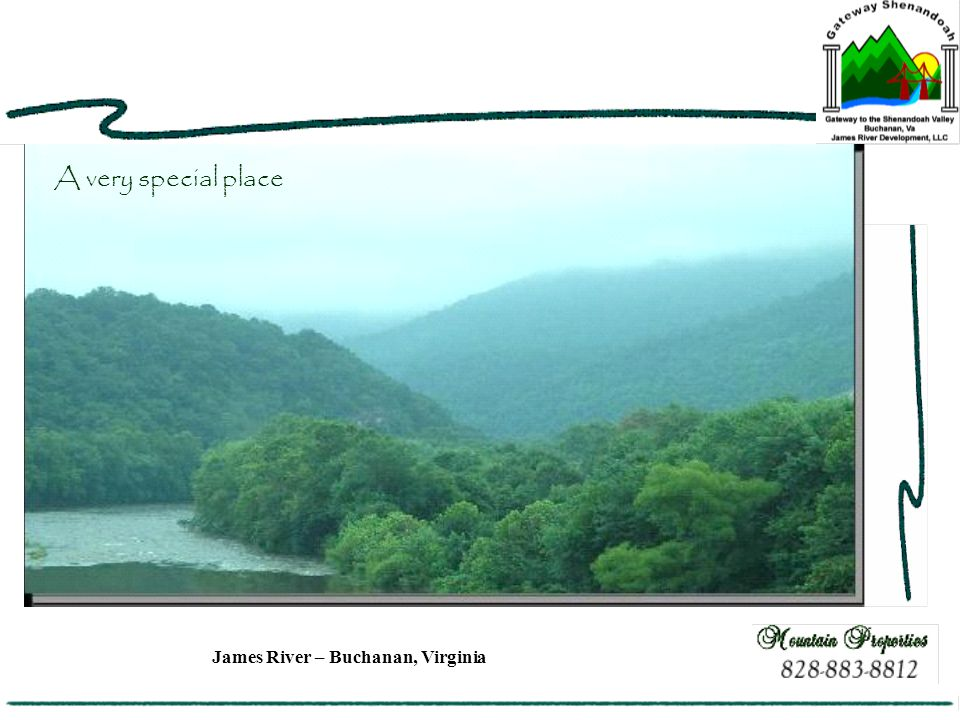 James River – Buchanan, Virginia A very special place