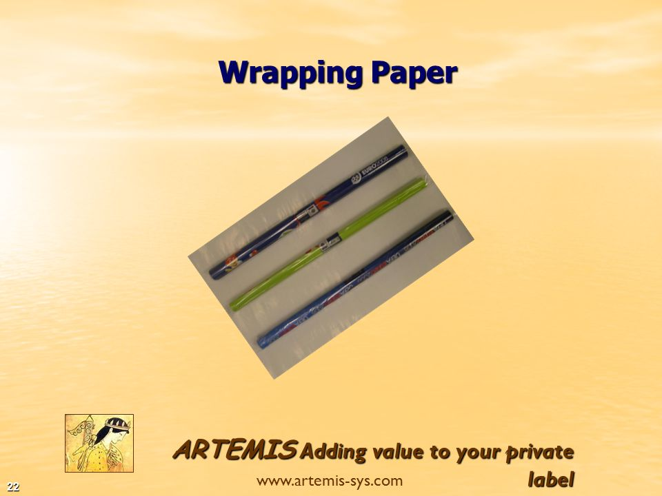 ARTEMIS Adding value to your private label www.artemis-sys.com 21 Stitched Note Books