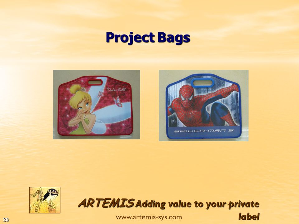 ARTEMIS Adding value to your private label www.artemis-sys.com 29 PP & Manila Dividers Rubber file