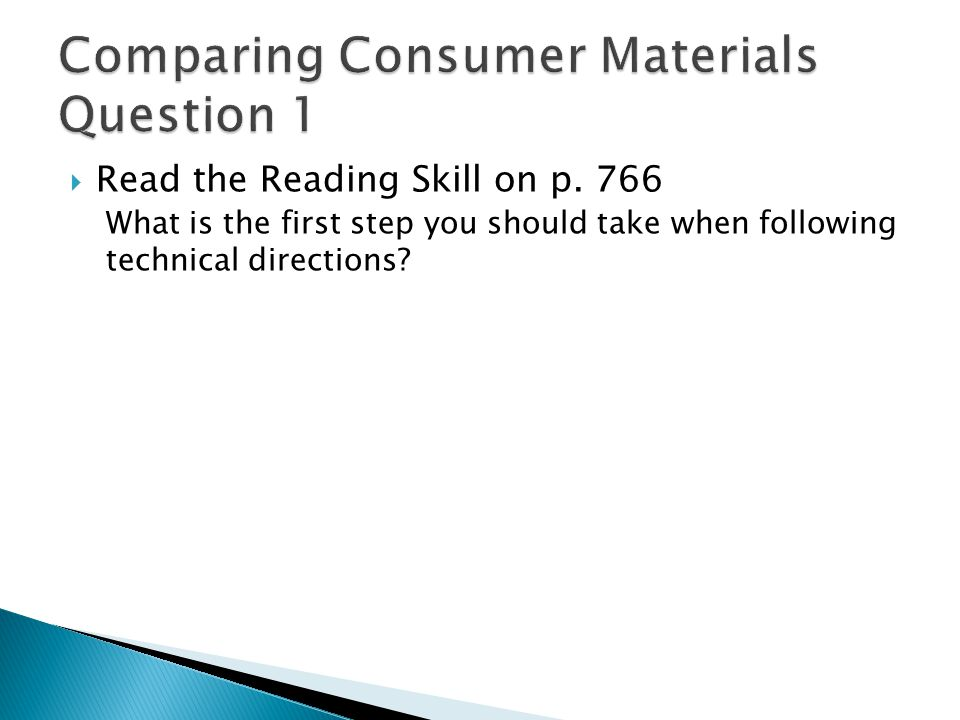  Read the Reading Skill on p.