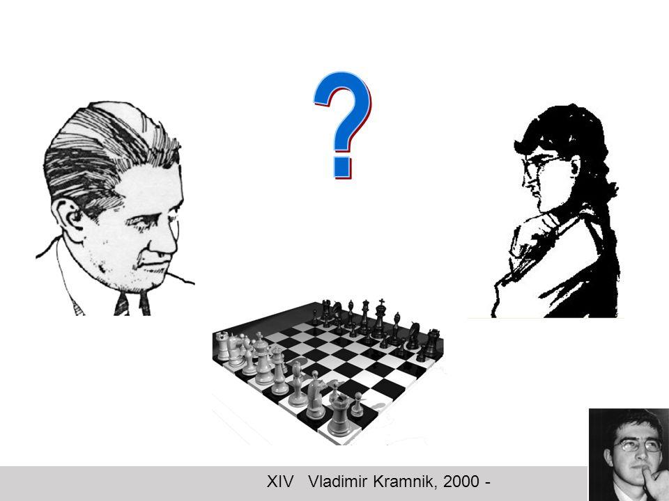 XIV Vladimir Kramnik, 2000 -