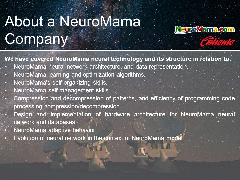 We have covered NeuroMama neural technology and its structure in relation to: NeuroMama neural network architecture, and data representation. NeuroMam