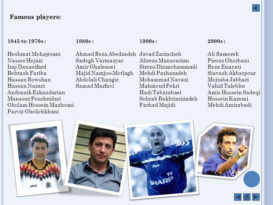 Season-by-season The table below chronicles the achievements of Esteghlal FC every season, from 1994 to the present day.
