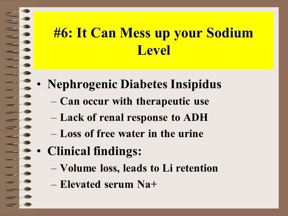 #1 Reason Why I Find Lithium Annoying: Dialysis Isn't So Hot Acute OD with high Li level: patients do okay anyway, without dialysis Chronic intoxication with moderate level, altered mental status: it takes days to weeks to recover anyway, despite dialysis