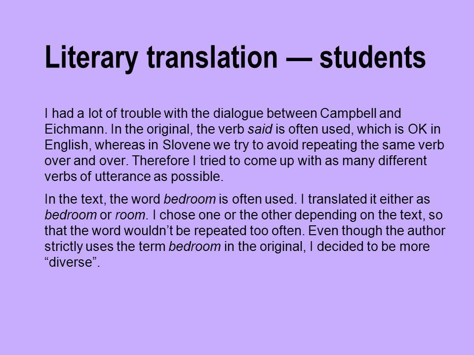 Literary translation — pro (1)