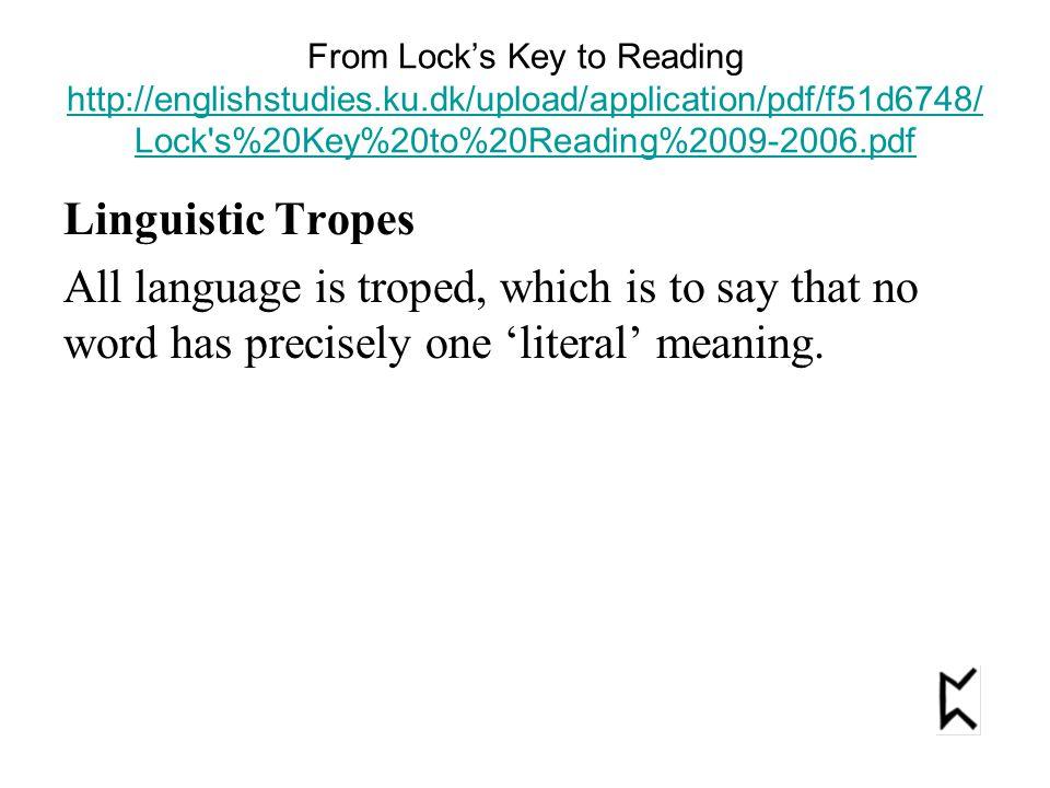 From Lock's Key to Reading http://englishstudies.ku.dk/upload/application/pdf/f51d6748/ Lock's%20Key%20to%20Reading%2009-2006.pdf http://englishstudie