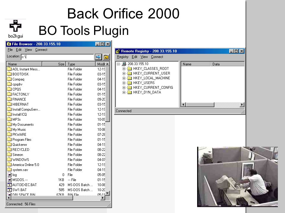 Back Orifice 2000 BO Peep Plugin