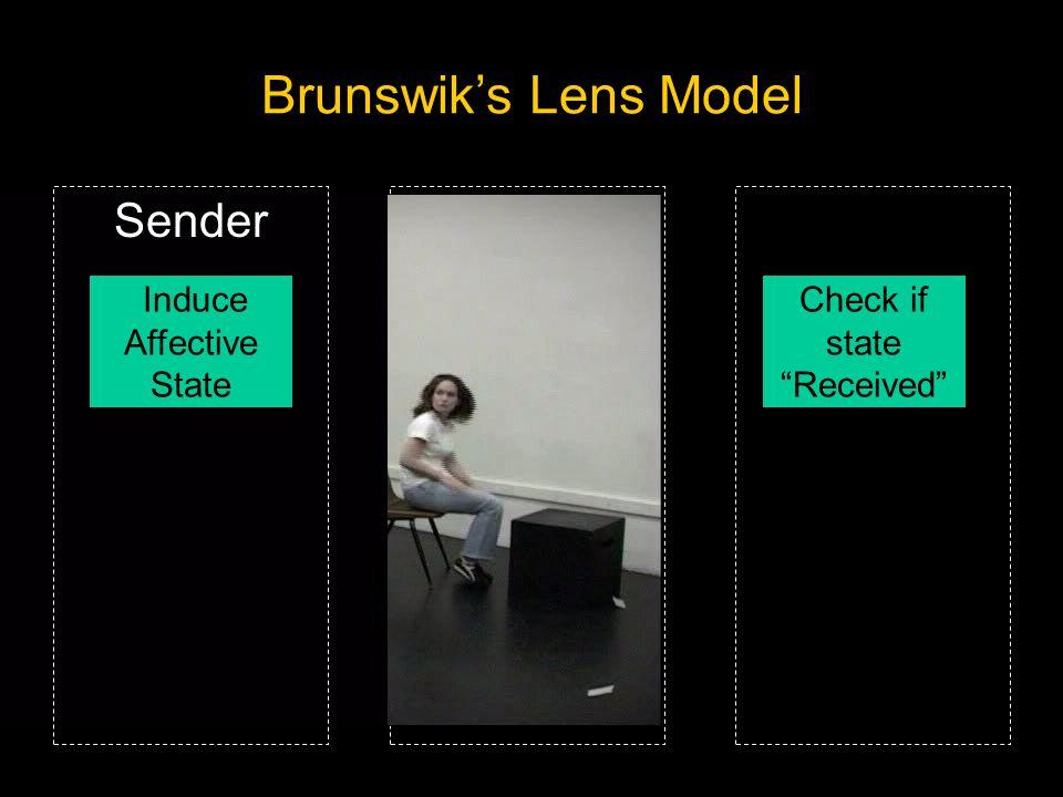 Attend to User Smile Nod Recline Extend Leg Signal Challenge for Detection: Encoding/Decoding Mismatch Brunswik's Lens Model Sender Induce Affective S