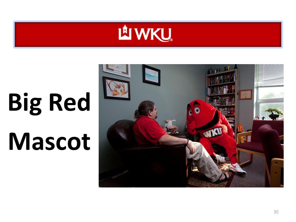 30 Big Red Mascot