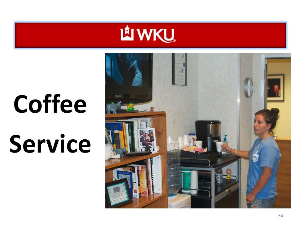 34 Coffee Service