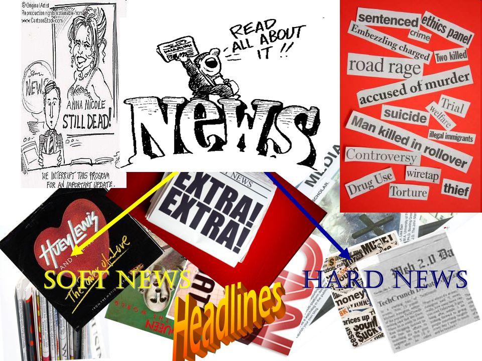 Soft NewsHard News Soft News Hard News