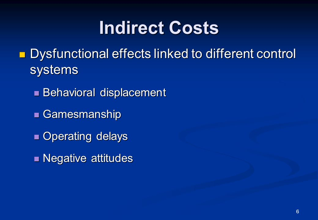 17 Pros and Cons of Control Mechanisms Action controls Direct link between action and control Documentation and learning Efficient coordination (if technology is simple and stable) Proactive Stifling creativity and fast adaptation Foster sloppiness Negative attitudes Behavioral displacement risk Often costly (indirect costs) Results controls Feasibility due to monetary focus Can be used to enhance autonomy Relatively inexpensive Imperfect link to actions Shift risk to employees Risk of gamesmanship Motivation vs communication Costly (direct & indirect costs) Reactive Difficult to change quickly (particularly cultural controls) Requires significant trust Relatively inexpensive (except selection and training) Proactive Personnel or cultural controls
