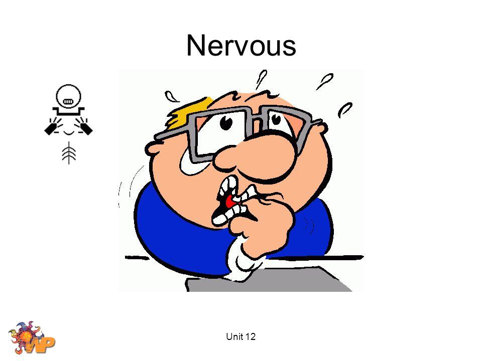 Unit 12 Nervous