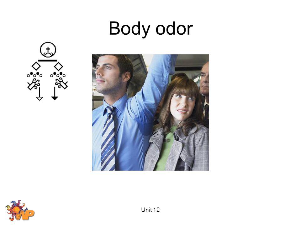 Unit 12 Body odor