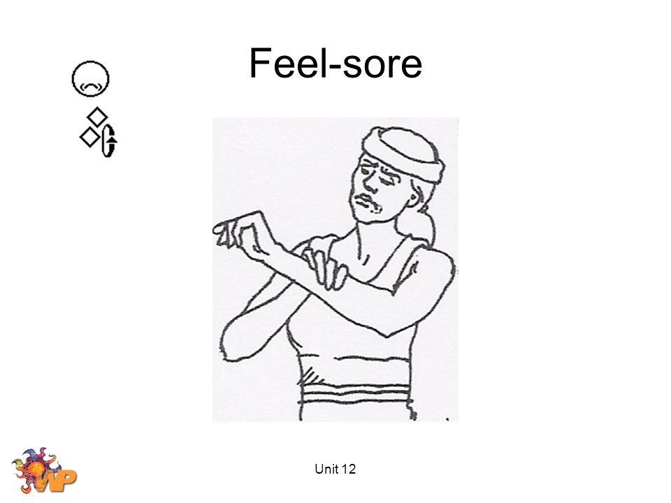 Unit 12 Feel-sore
