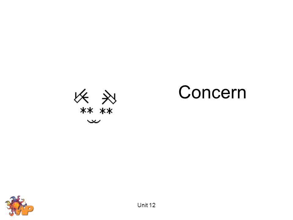Unit 12 Concern
