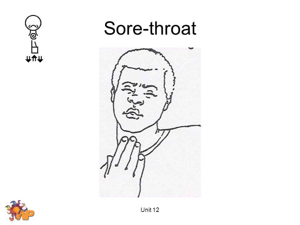 Unit 12 Sore-throat