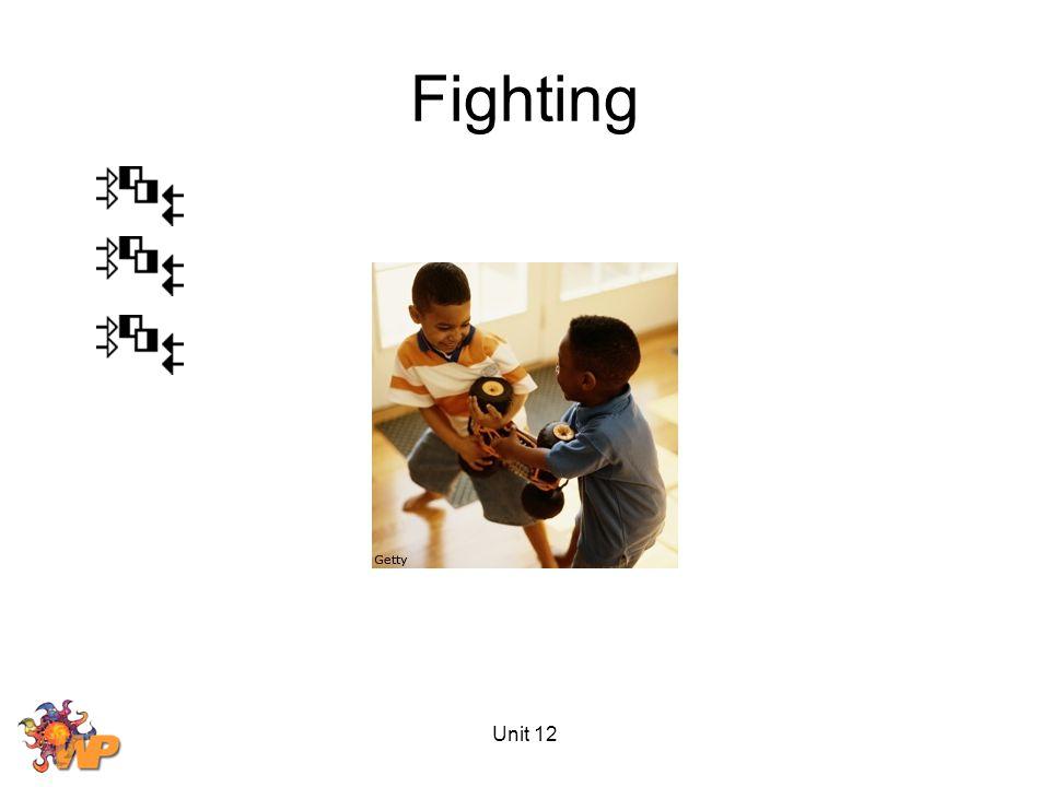 Unit 12 Fighting