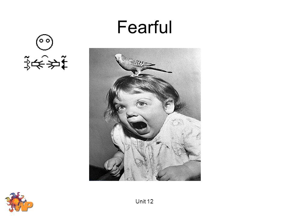 Unit 12 Fearful