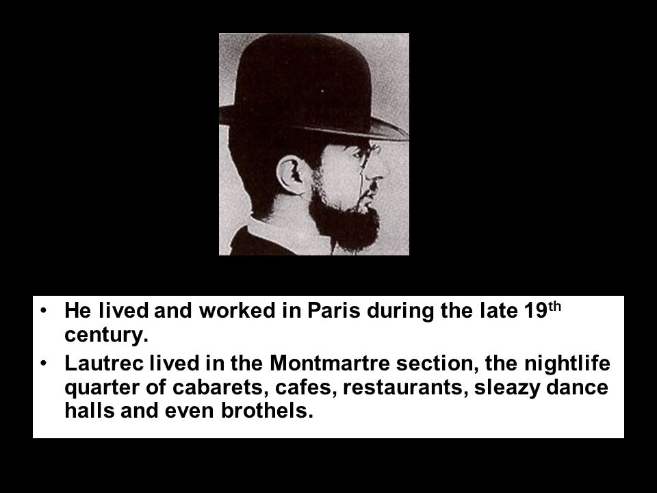 He lived and worked in Paris during the late 19 th century.