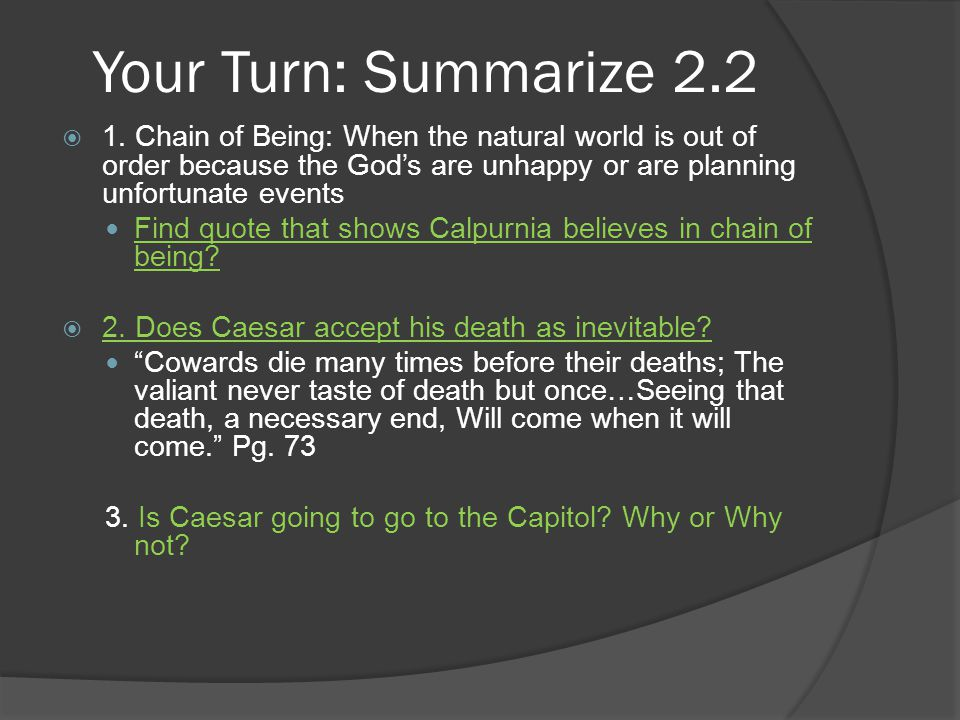 Your Turn: Summarize 2.2  1.