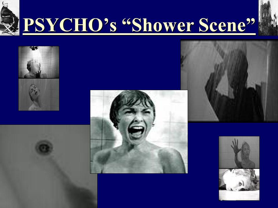 PSYCHO's Shower Scene