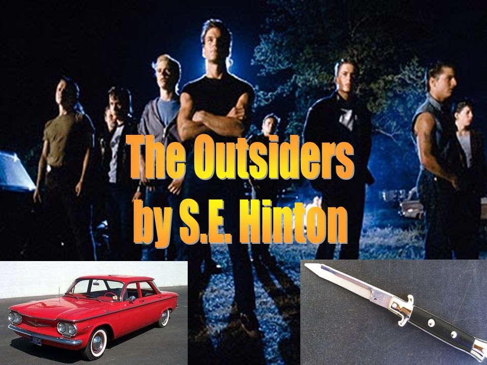 The Outsiders – Chapters 7 - 9 12. What were Johnny's last words to Ponyboy?