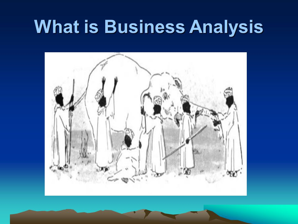 What is Business Analysis