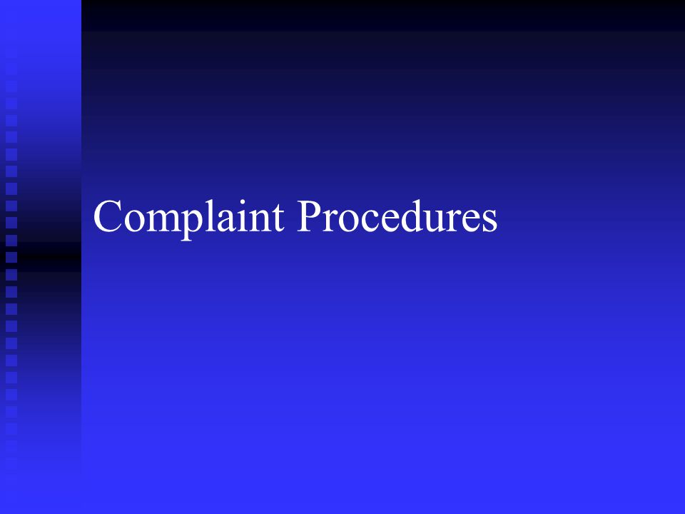 Overview n n Describe the Army's EO Complaint Process.
