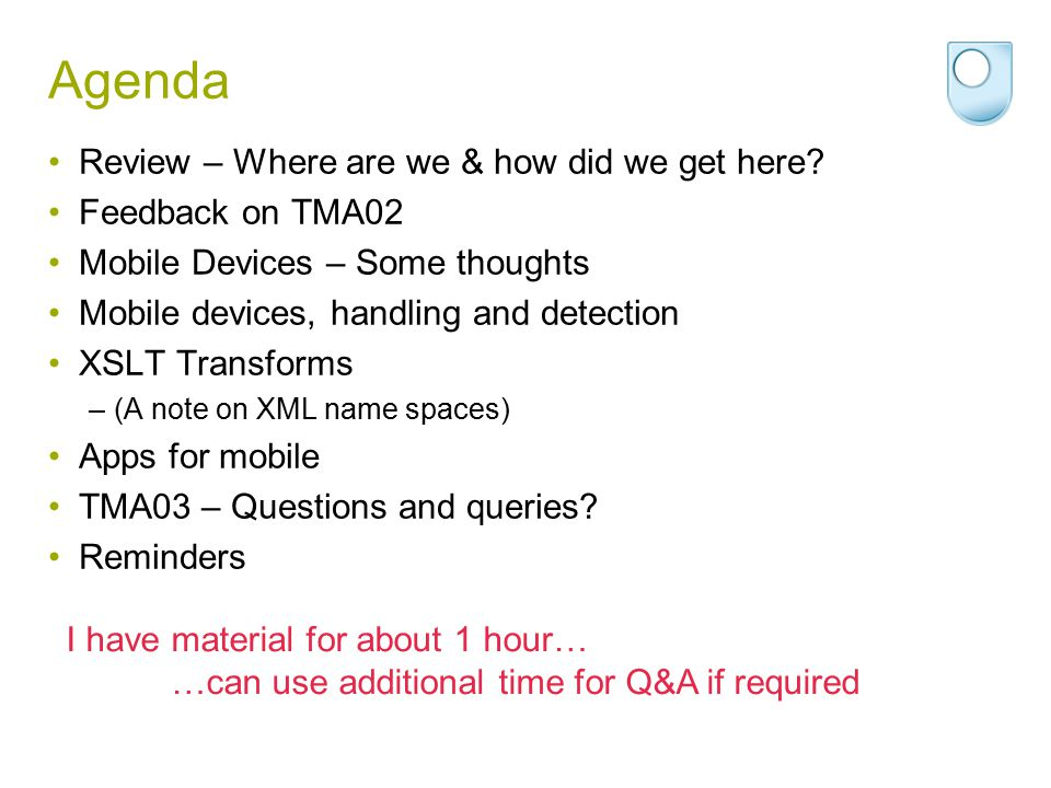 Back to Question 3 I will answer questions, but these are to be your ideas.