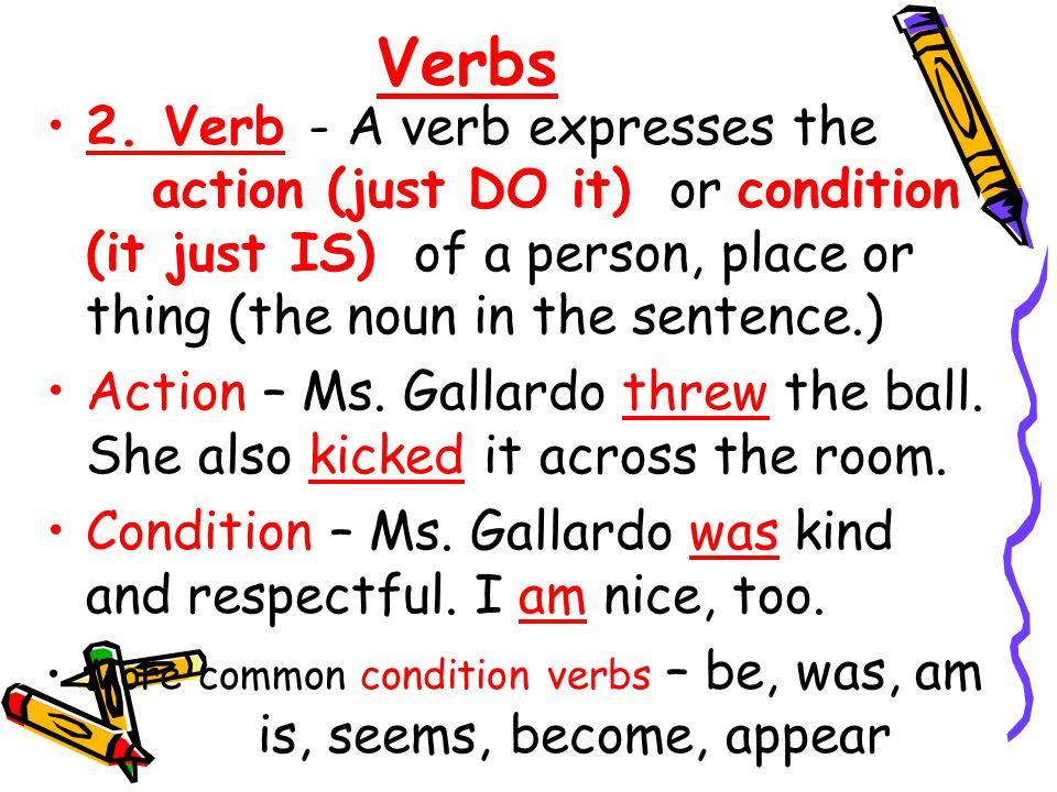 Verbs 2.