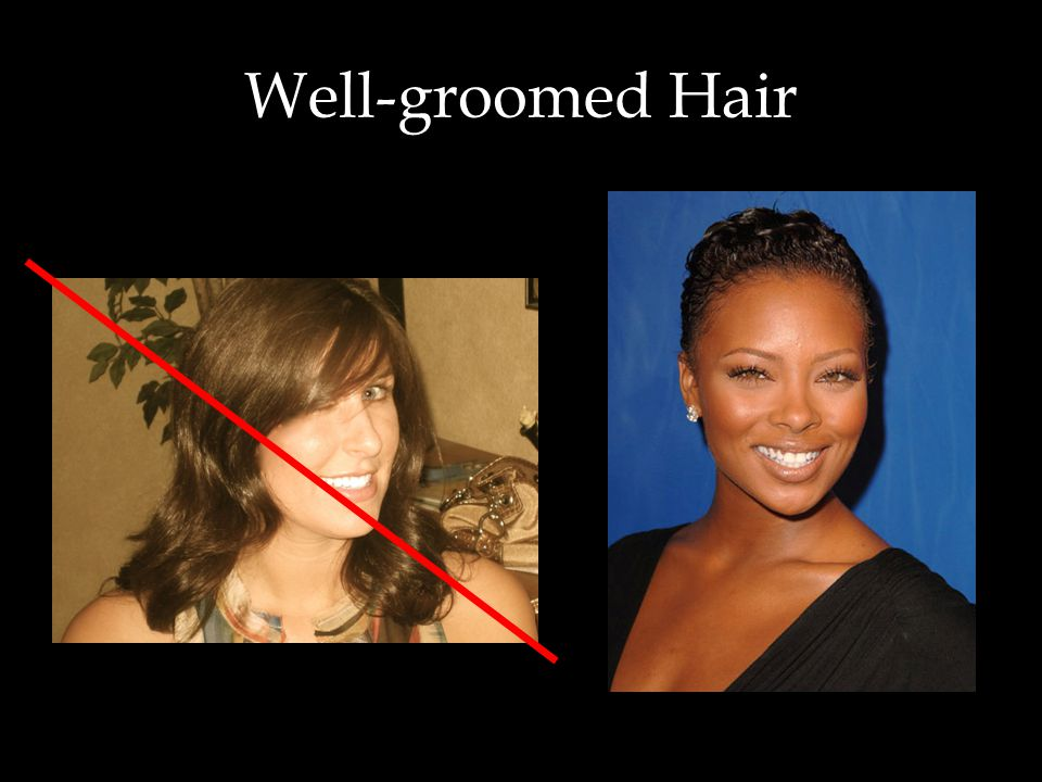 Well-groomed Hair