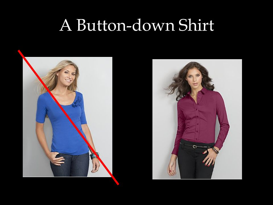 A Button-down Shirt