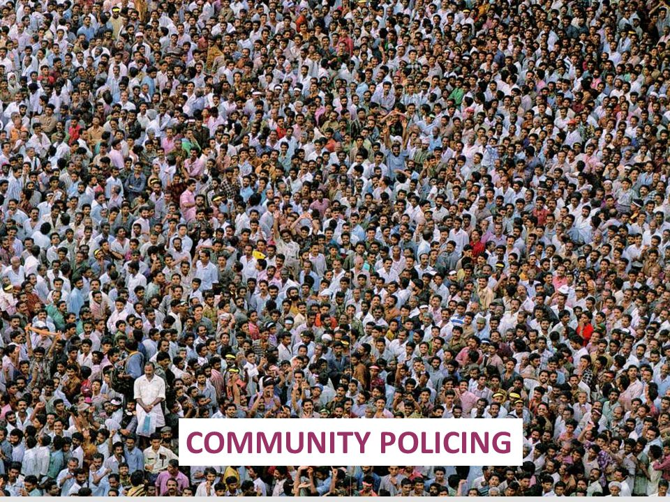 3 PART I Conceptual basis of community policing PART II Experience in Pakistan PART III Comparison of community policing models PART IV Role of women in community policing PART V Impediments in implementation PART VI Group activity SEQUENCE OF PRESENTATION