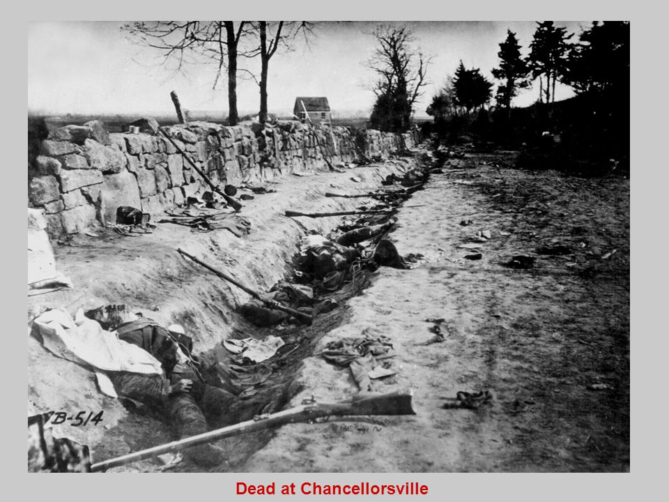 Dead at Chancellorsville