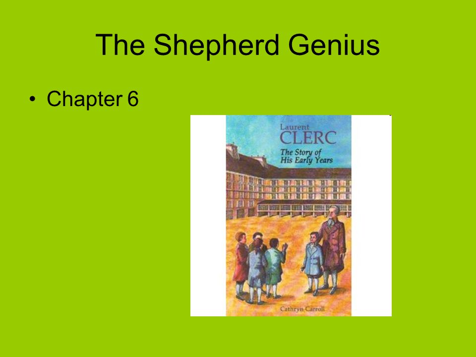The Shepherd Genius Chapter 6