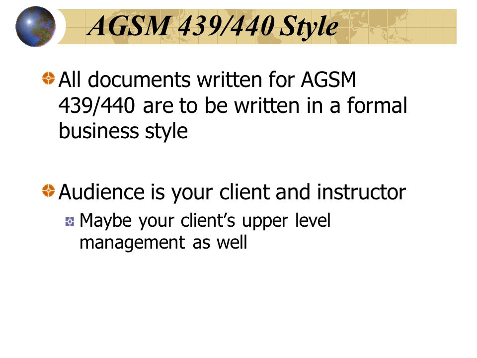 Slang/Euphemisms/Colloquialism s Wording and phrasing typically used in speech are not effective in business writing.