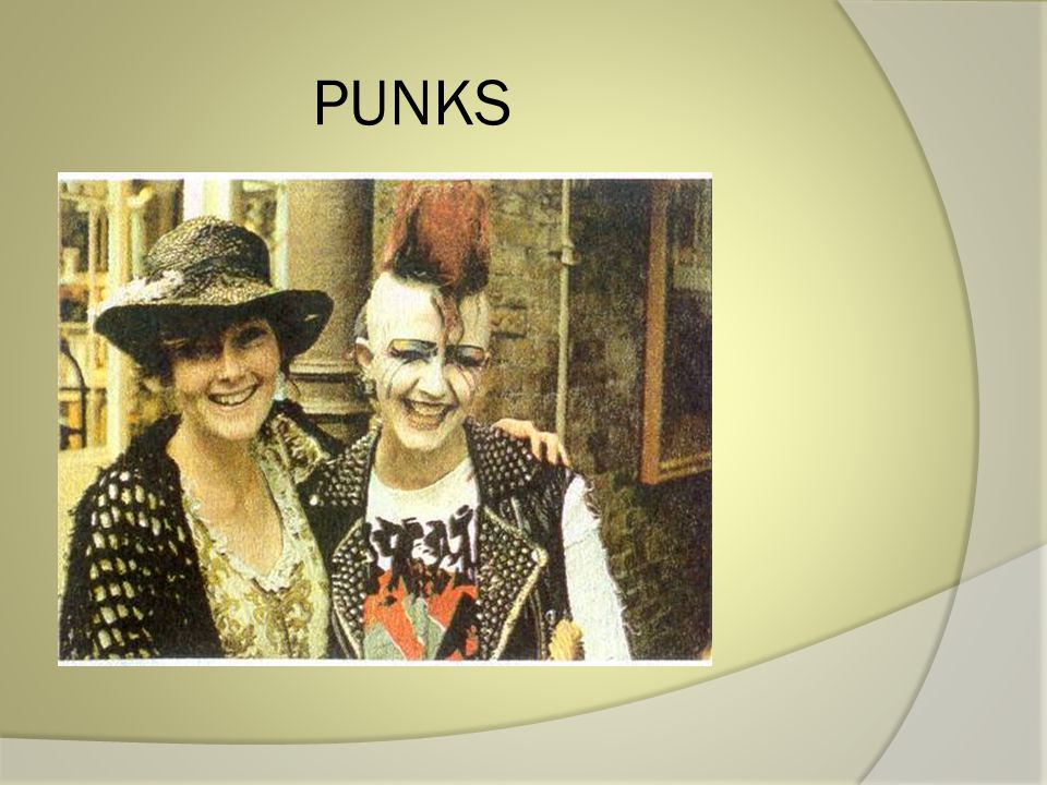 The ideology of punks is quite simple: Say NO to everything .