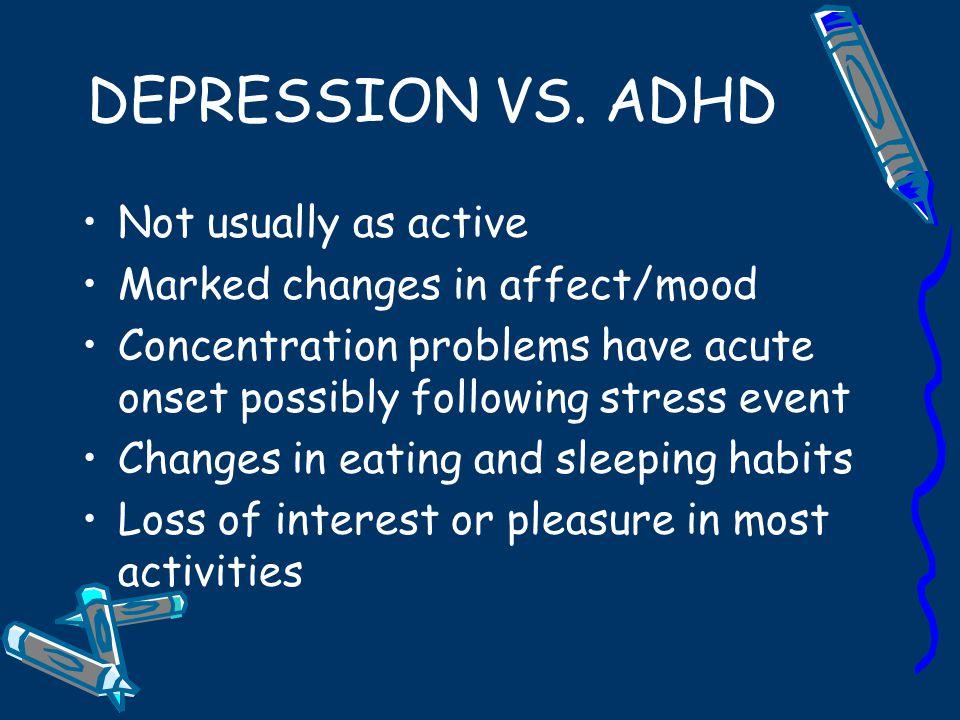ADHD VS.