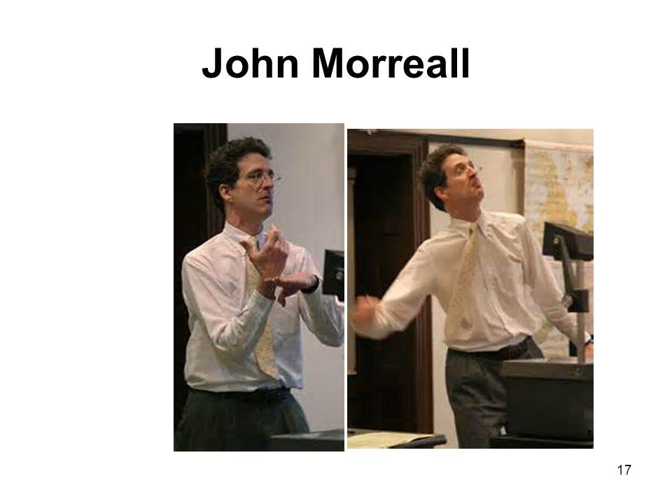 John Morreall 17