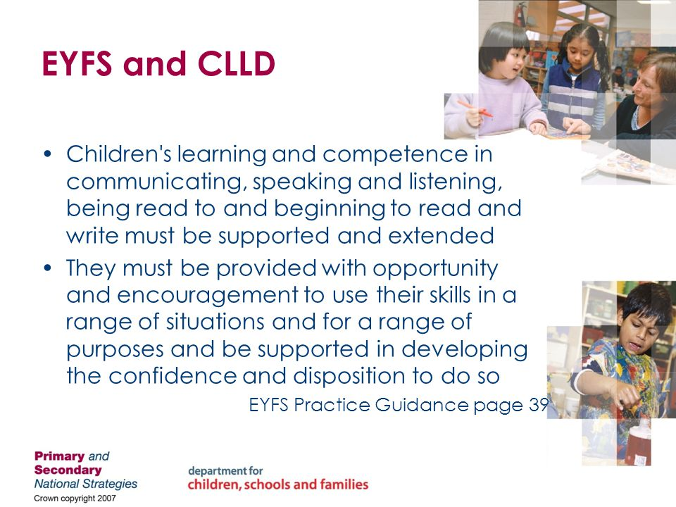 What does CLLD mean for children.