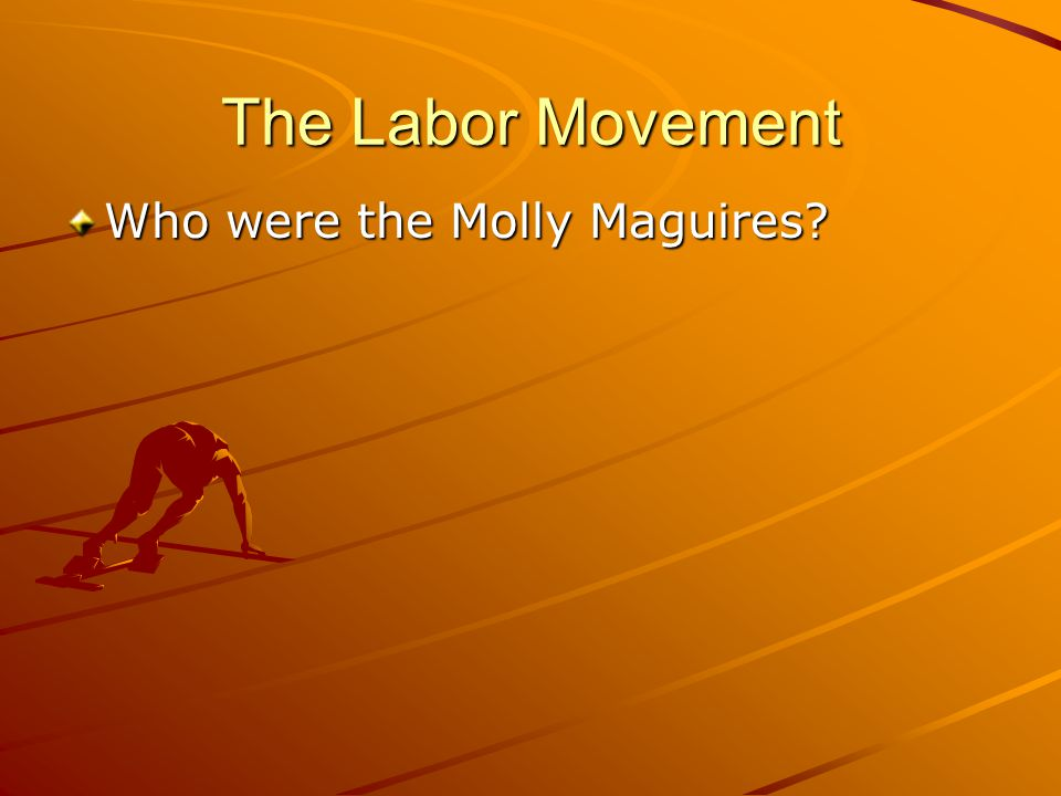 The Labor Movement Who were the Molly Maguires