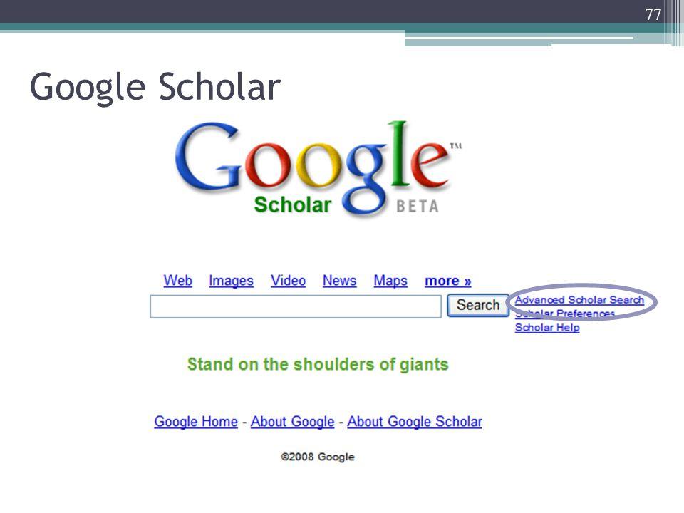 77 Google Scholar