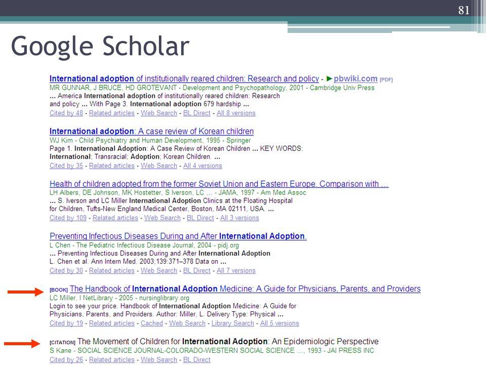 81 Google Scholar