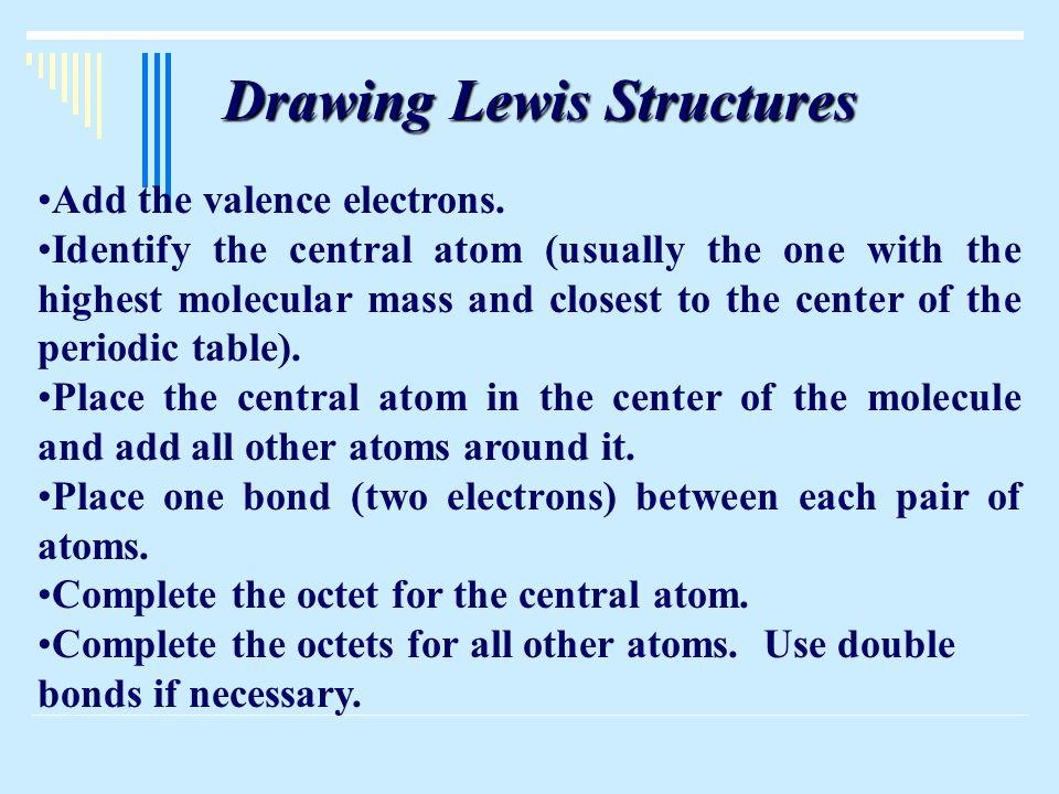 Bond Energy and Bond Order  Single bonds have lowest bond energy  Double bonds have higher bond energy  Triple bonds have highest bond energy