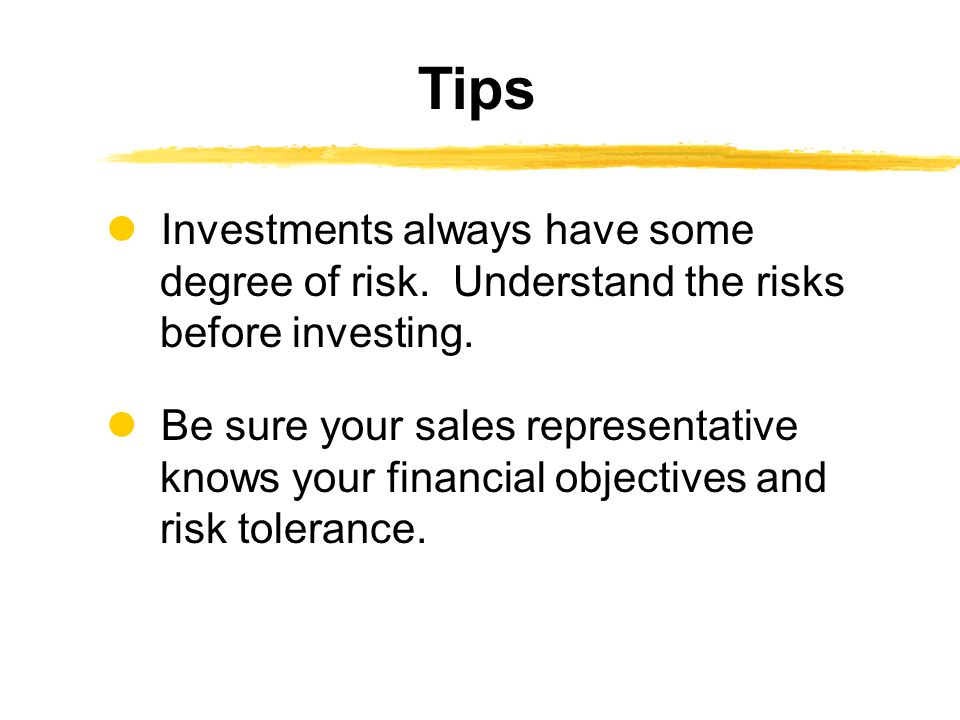 Investments always have some degree of risk. Understand the risks before investing.