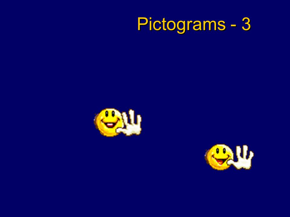 Pictograms - 2