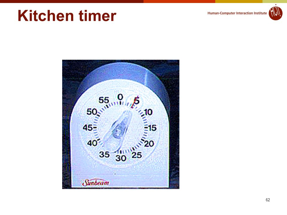 Kitchen timer 62
