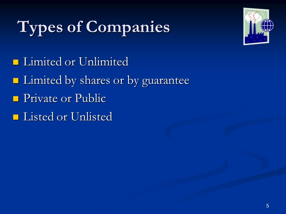 6 Hierarchy of a Company Shareholders Shareholders Own the company, do not run it.