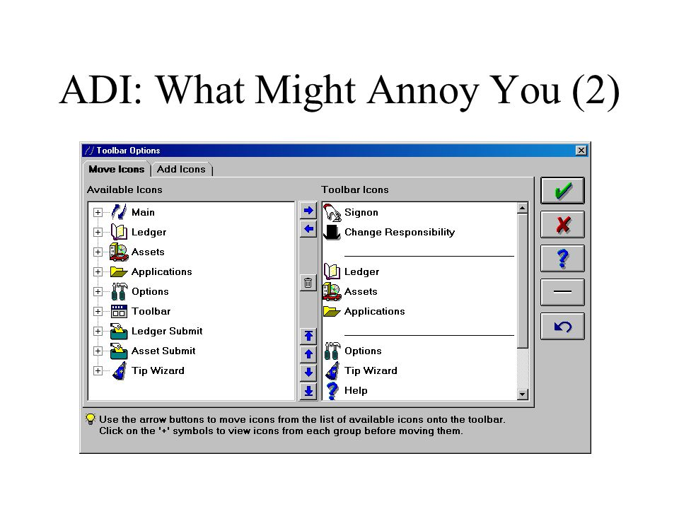 ADI: What Might Annoy You (2)